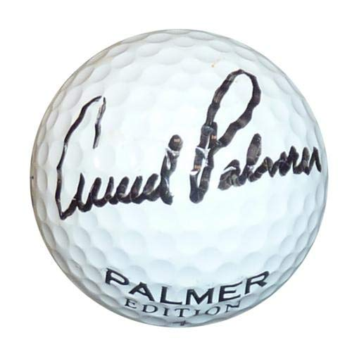 Arnold Palmer Autographed Signed Auto Golf Ball JSA - Certified Authentic ()