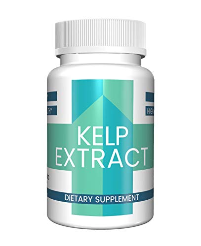 485mg 100 Capsules - Kelp Extract Capsules (100 Capsules, 485 mg per Serving) (1 Capsule/Serving) by Pure Organic Ingredients, Superfood, Energy Booster*, Lower Stress*, Weight Loss Aid*, Heart Healthy*