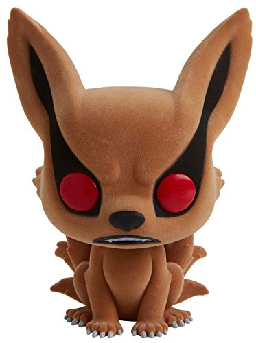 Funko - Figurine Naruto Shippuden - Kurama Flocked Exclusive Oversized Pop 15cm - 0889698363