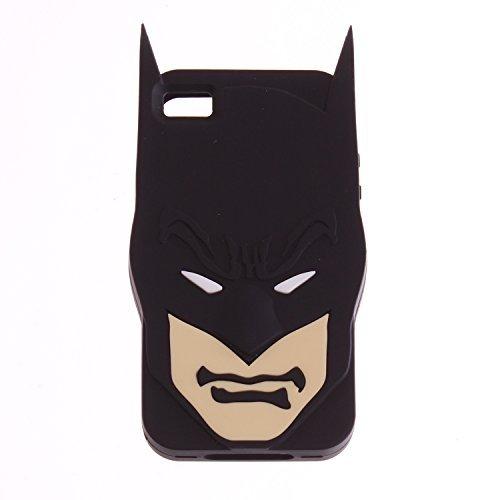 DC Comics Batman Face Rubber iPhone 4/4s Case