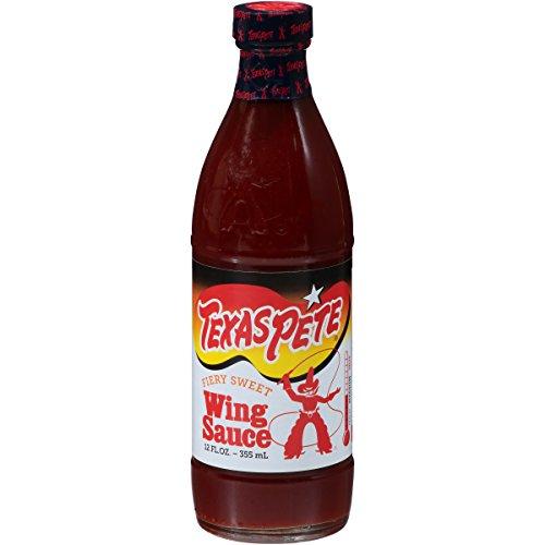 (Texas Pete, Fiery Sweet Wing Sauce 12 fl oz. (12 count))