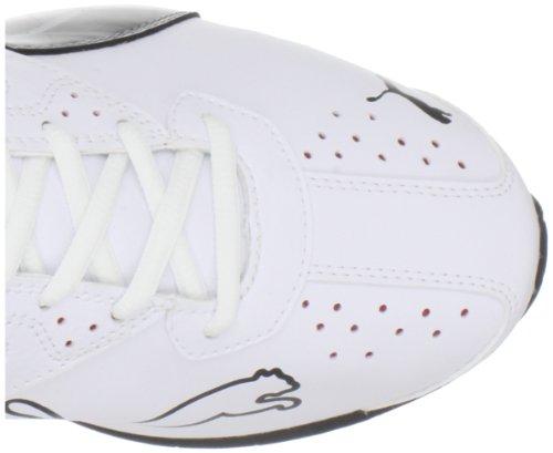 886375633292 - PUMA Men's Tazon 5 Cross-Training Shoe,White/Black/Ribbon Red,10 D US carousel main 6