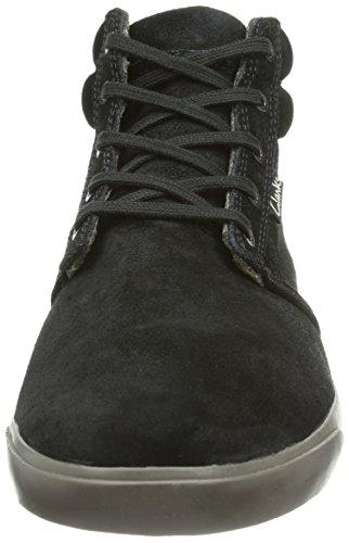 Clarks Torbay Mid Herren Hohe Sneakers Schwarz (Black/Grey)