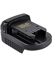 Tecmana Batterij Adapter Converter Compatibel voor Makita BL1830 BL1840 BL1850 BL1860 18V Li-ion Batterij Converteren naar Milwaukee 18V/20V 48-11-1828 M18 Lithium Batterij