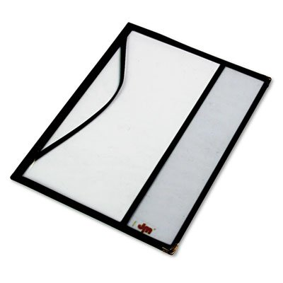 See-Through Plastic Magazine Cover, For Magazines to 12-3/8 x 9-1/8, Sold as 1 Each