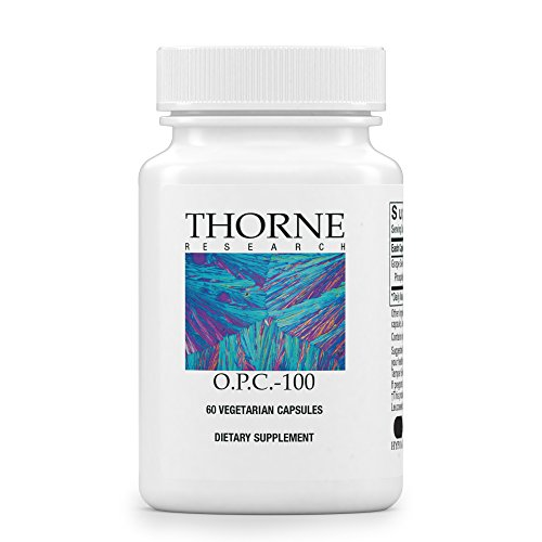 Thorne Research - O.P.C.-100 - Grape Seed Phytosome for Antioxidant Support - 60 Capsules (Vitamin Thorne C)