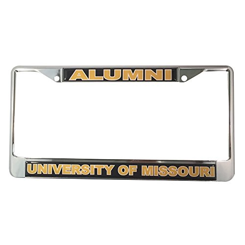 - Desert Cactus University of Missouri MO License Plate Frame/Tag For Front Back of Car Officially Licensed (Alumni - Metal Frame)