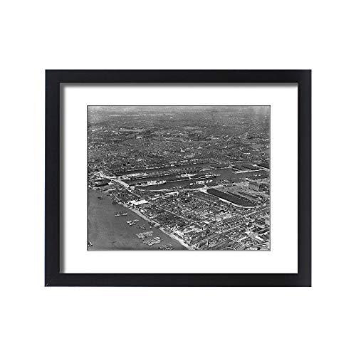 Media Storehouse Framed 20x16 Print of East India Docks EPR003338 ()