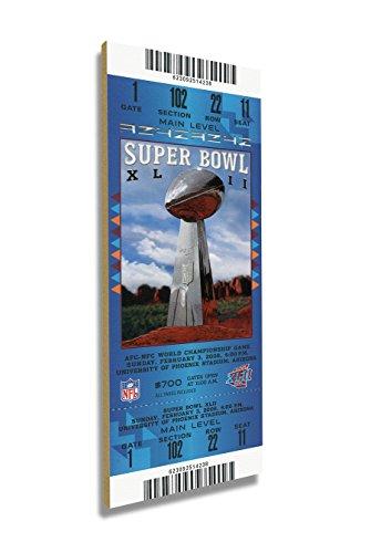 (Winning Streak Super Bowl XLII (42) Mini-Mega Ticket - New York Giants )