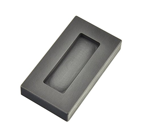 2 oz Troy Ounce Kit Kat Gold Graphite Ingot Mold for Melting Casting Refining Scrap Jewelry by PMC Supplies LLC