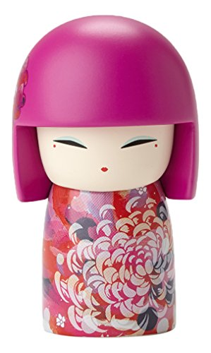 Enesco kimmidoll Mitsuko Optimism Stone Resin Mini Doll Figurine, 2.17