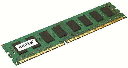 Nforce 790i Sli - Crucial 1GB Single DDR3 1333 MT/s (PC3-10600) CL9 Unbuffered UDIMM 240-Pin Desktop Memory Module CT12864BA1339