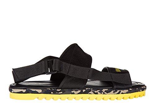 Armani Jeans sandales pour homme noir