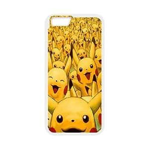 iPhone 6 Plus 5.5 Inch Cell Phone Case White Pikachus SLI_505332