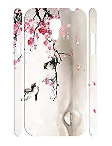 Hipster Individualized Floral Print Handmade Samsung Galaxy S4 Mini I9195 Hard Phone Case