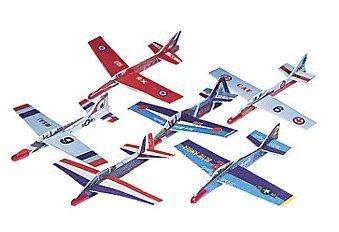 Foam Airplane Gliders (4 dz) by Fun Express -