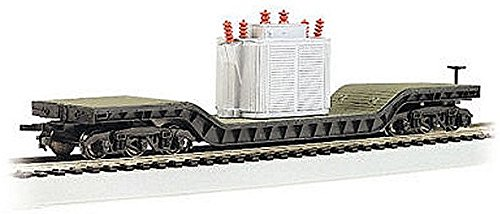 Bachmann Trains Center-depressed Flat Car with Transformer (Transformers For Cars compare prices)