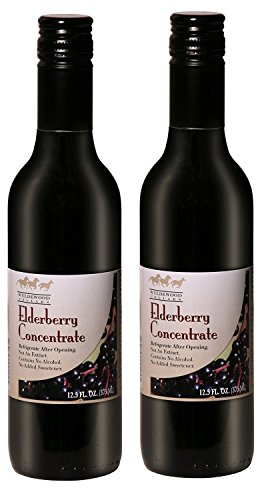 Elderberry Juice Concentrate 12.5 fl. oz. (Pack of 2) - Elderberry Concentrate