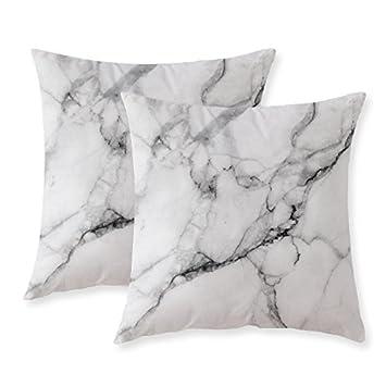 Amazon Com Misscc Marble Pattern Cushion Covers Decorative Throw