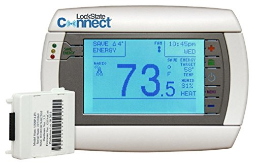 LockState Connect LS-90 Programmable Thermostat (Climate Control Auto)