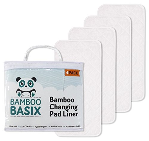 SALE - PREMIUM CHANGING PAD LINERS [4 Pack] 28