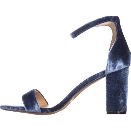 Donne Inc Blu Casual Kivah Internazionali Cloud International Toe Blue Cinghia Inc Concetti Sa Casuale Kivah Ankle Fabric Tessuto Sa Caviglia Open Tacco Nuvola Concepts Strap Womens wq6xwWFpP4