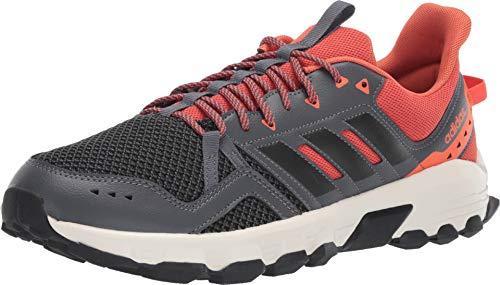 adidas Running Men's Rockadia Trail Grey Six/Black/Raw Amber 10.5 D US