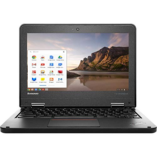 🥇 Lenovo ThinkPad 11e 11.6″ LED Chromebook Laptop Intel Celeron N2930 Quad Core 1.83GHz 16GB 4GB