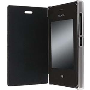 Krusell Boden FlipCover 75834 MfX para Sony Xperia M2, negro