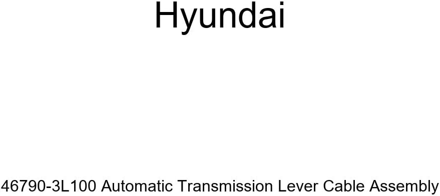 Genuine Hyundai 46790-3L100 Automatic Transmission Lever Cable Assembly