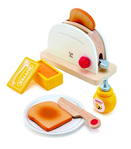 Hape White Wooden Pop-Up Toaster...