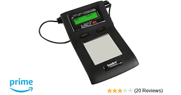 Amazon.com: GemOro AuRACLE AGT3 Gold (6-24K) & Platinum Tester Kit: Home & Kitchen