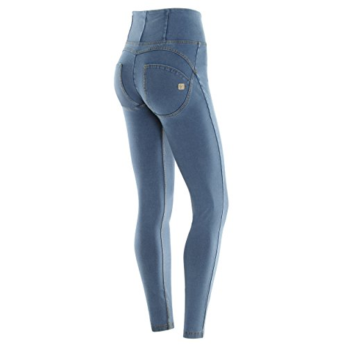 Wrup1hj3e Gialle Freddy Jeans cuciture Donna Chiaro 6nTd4TR