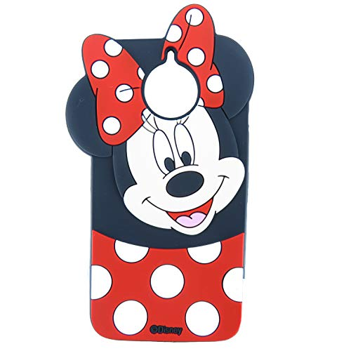 EMF Cute Mouse Case for Motorola Moto G6 Plus,[Not Fit Moto G6/G6 Play] 3D Cartoon Animal Silicone Protective Kawaii Funny Character Cover,Animated Cool Skin Case for Kids Teens Guys (Moto - Monster G Case Moto