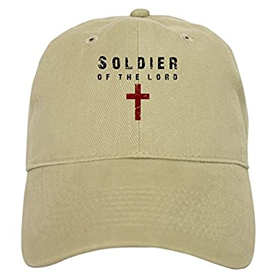 bd1ed8c0e46 CafePress - Soldier of The Lord - Baseball Cap with Adjustable ...