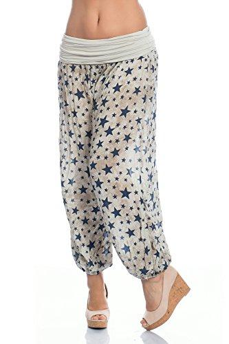 WeaModa - Pantalón - para mujer Beige
