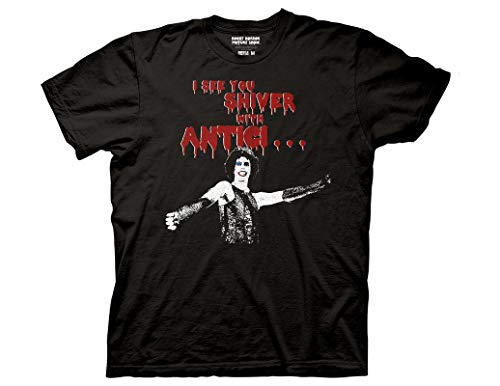 Ripple Junction The Rocky Horror Picture Show Adult Unisex Anticipation Light Weight 100% Cotton Crew T-Shirt 3XL -
