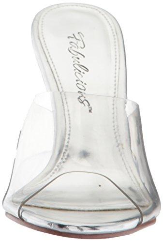 FABULICIOUS ,  Damen Sandalen , - Clear/Clear - Größe: 7 US