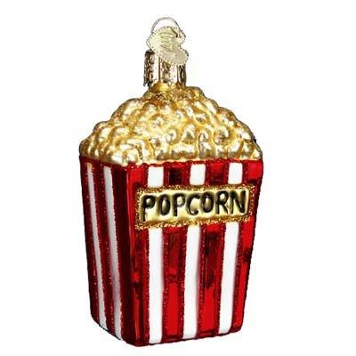 Old World Christmas Popcorn Glass Blown - Hallmark Popcorn