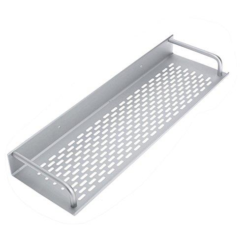 Review Dophee 40Cm Single Tier Rectangle Bath/Kitchen Rack Aluminum Bathroom Shelf By dophee by dophee
