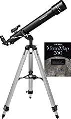 For beginning stargazers who want a starter telescope capable of providing more oomph, more performance than a traditional 60mm refractor, we present the Orion Observer II 70mm Altazimuth Refractor Telescope. Compared to a 60mm refractor, the...
