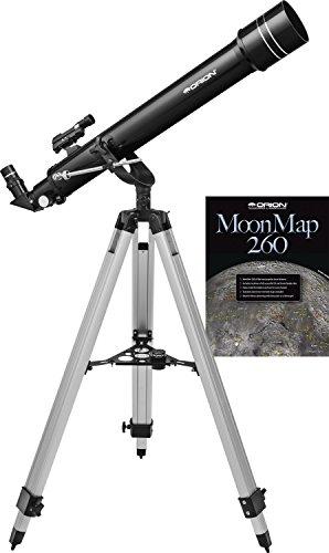 Orion Observer 70mm II AZ Refractor, Black