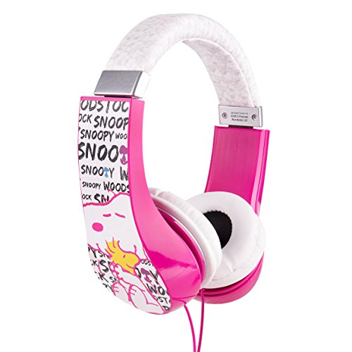 Childrens Peanuts Headphones with Volume Limiter (HP2-03080)