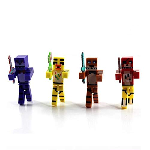 VIET FG 4 Pcs Anime Figure FNAF Five Night at Freddy PVC Freddy Toy Action Figure Hot Toys for Children Juguetes Birthday Gift]()
