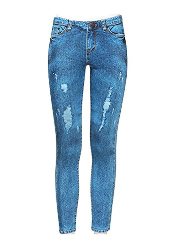 AGATHA Printed Leggings Jeans (Jasper, L) - Bootcut Striped Jeans