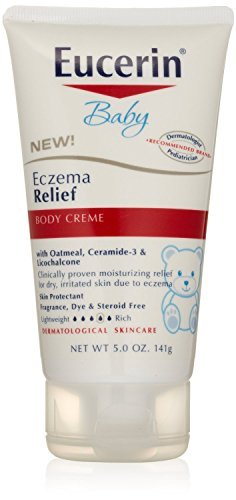 Eucerin Baby Eczema Relief Body Creme, Super Size Package 15 Ounce