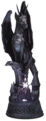 George S. Chen Imports SS-G-71223 Dragon with Lighting LED Crystal Ball Collectible Figurine Statue (Dragon Collectible Figurine Statue)