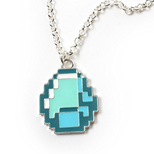 The Minecraft Creeper Necklace Is Cool Best Gifts Top Toys