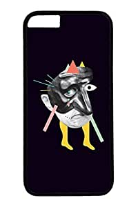 iPhone 6 Case, Personalized Unique Design Covers for iPhone 6 PC Black Case - Man Black