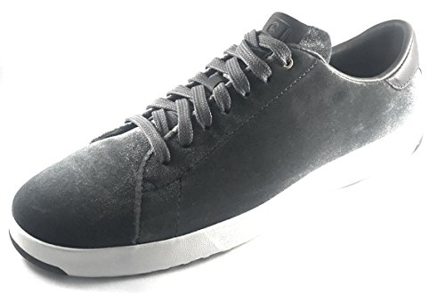 Cole Haan Women Grandpro Tennis Leather Lace OX Fashion Sneaker Ironstone